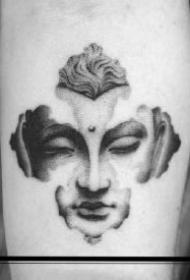 很有意思的一组黑灰创意国外纹身小图