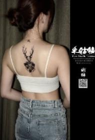 自贡纹身 四川自贡火骷髅刺青的9款纹身店作品