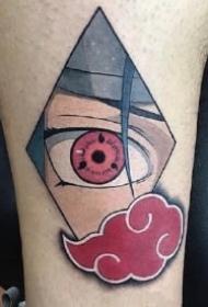 火影忍者动漫的佩恩和宇智波鼬神的纹身图
