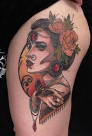 一组欧美彩色纹身图案欣赏