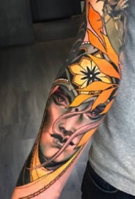 有些很美,有些很丑的欧美纹身图案