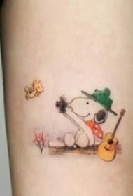 一组简单可爱的小清新纹身图案