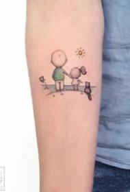 一组小清新超可爱的纹身