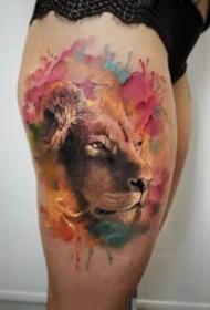 适合狮子座气质的狮子纹