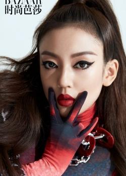 何瑞贤烈焰红唇美艳性感写真图片