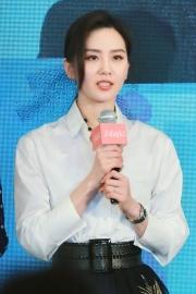 刘诗诗简单白衬衫优雅时尚写真