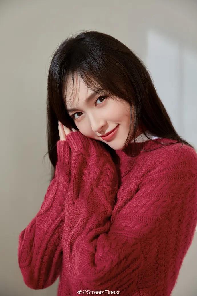 美女明星唐嫣温婉气质写真