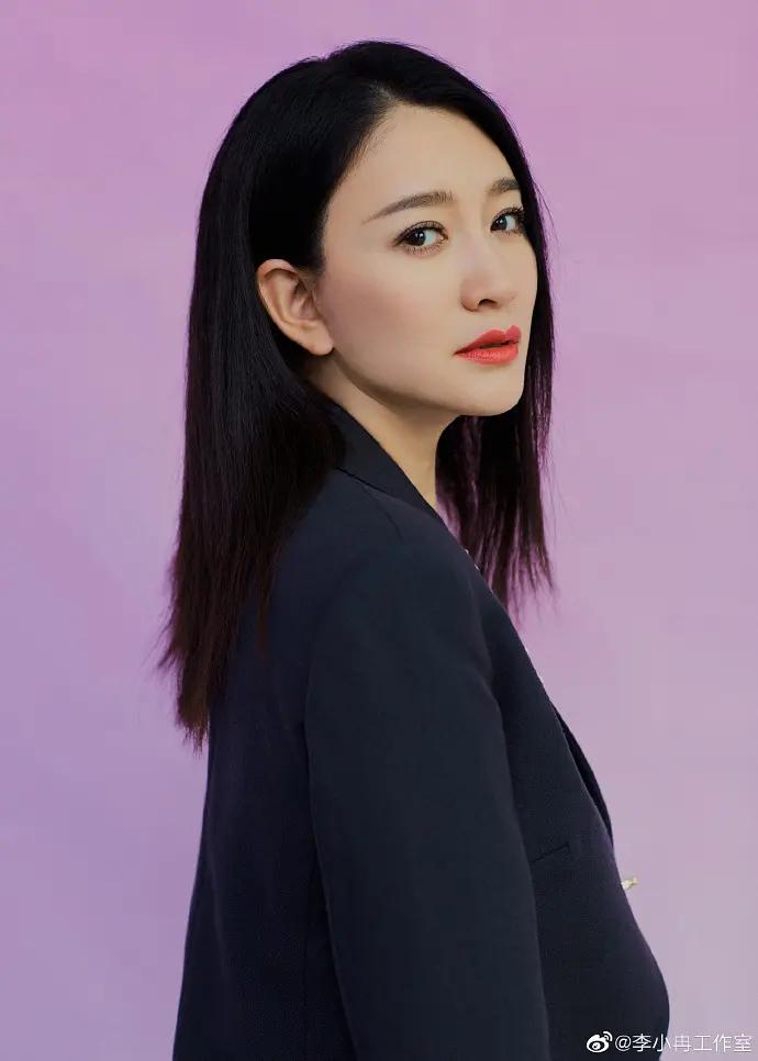 李小冉又美又飒时尚帅气图片