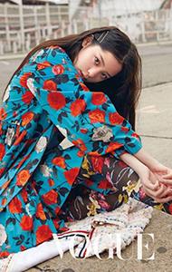 欧阳娜娜时尚杂志写真图片