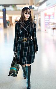 Angelababy杨颖机场街拍图片