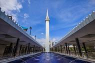 马来西亚吉隆坡国家清真寺图片(8张)
