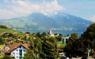 瑞士小镇卢塞恩风景图片(15张)