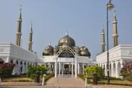 沙巴水上清真寺图片(12张)