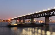 壮丽的武汉长江大桥图片(13张)