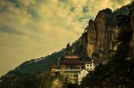 安徽九华山风景图片(12张)