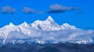 西藏南迦巴瓦峰图片(8张)