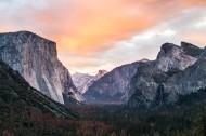 美国优胜美地国家公园风景图片(14张)