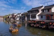 浙江西塘古镇风景图片(7张)