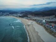 韩国海水浴场风景图片(9张)