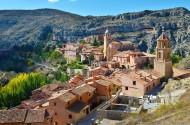 西班牙小镇阿尔瓦拉辛风景图片(12张)