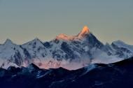 西藏南迦巴瓦峰图片(14张)