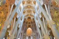 西班牙巴塞罗那圣家族大教堂图片(22张)
