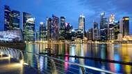 新加坡城市夜景图片(9张)