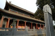 陕西西安草堂寺风景图片(12张)