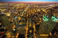 繁华的城市夜景图片(17张)