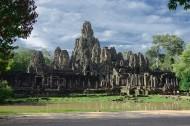 柬埔寨巴戎寺风景图片(16张)
