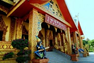 云南西双版纳勐泐大佛寺风景图片(17张)
