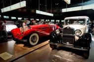 德国奔驰博物馆内部陈设图片(19张)