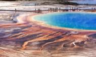 美国黄石国家公园地热风景图片(20张)