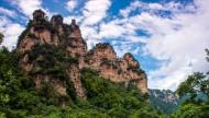 湖南张家界十里画廊风景图片(11张)