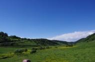 陕西宝鸡关山草原风景图片(13张)
