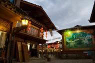 香格里拉夜景图片(10张)