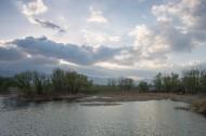北京稻香湖春天风景图片(9张)