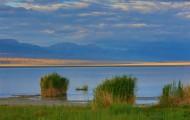 青海可鲁克湖风景图片(18张)