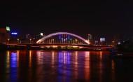 甘肃兰州元通大桥夜景图片(13张)