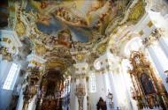 德国维斯圣地教堂风景图片(9张)