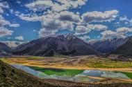 西藏林芝桃花沟风景图片(16张)
