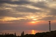 江苏太湖夕阳风景图片(9张)