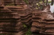 湖南古丈红石林风景图片(17张)