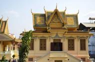 柬埔寨金边皇宫风景图片(11张)