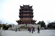 湖北武汉黄鹤楼风景图片(11张)