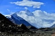 西藏珠穆朗玛峰风景图片(7张)