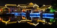 江苏无锡荡口古镇夜景图片(17张)