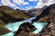 西藏羊卓雍措风景图片(8张)