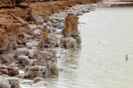青海察尔汗盐湖的盐花图片(20张)