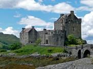 古老的苏格兰艾琳多南堡建筑风景图片(15张)